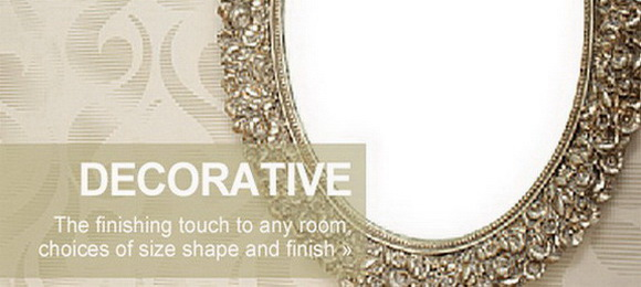 Click here to see our range of decorative wall mirrors