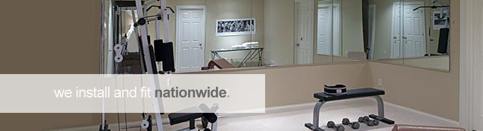 Mirrorworld fitting and installation services are available nationwide