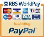 We Accept Paypal and All Major Credit and Debit  Cards