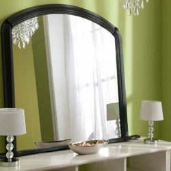 Click here to View Our selections of Black Overmantle Mirrors