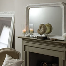 Click here to View Our selections of White Overmantle Mirrors