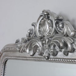 Click here to View Our selections of Silver Overmantle Mirrors