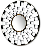 This Mirror will make a stylish and eye-catching addition to any room.