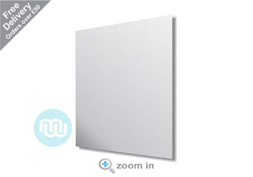 4mm Glass  Float Polished Mirror 600 x 450mm
