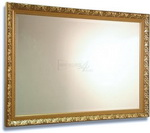 Elegant Decorative Gold Framed Bevelled Mirror