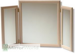 Light ash colured Dressing Table Mirror