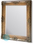 Beautifully Large sized Rococo Ornate Gold Framed mirror.  This photograph cannot capture the grandeur of this very large mirror. Combines massive proportions with an elegance rarely available in modern home furnishings.