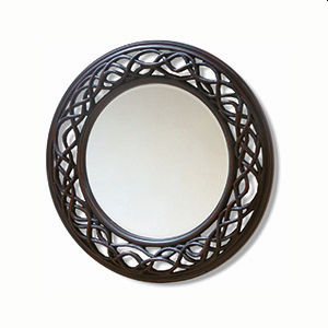 Round & Oval framed mirrors